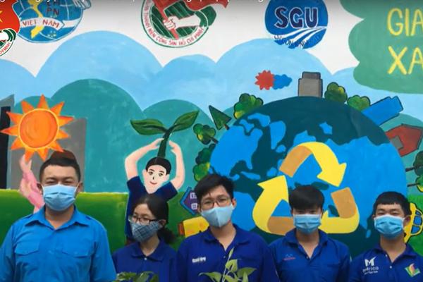 Hoạt động tình nguyện ra quân bảo vệ môi trường tại địa phương