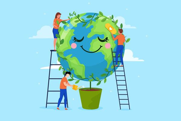 Sinh viên cùng chung tay xây dựng nguồn quỹ xanh giữ gìn không gian sống sạch, đẹp